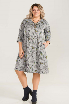Платье 785 Luxury Plus (Серый)
