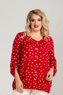 Блуза 861 Luxury Plus (Красный)